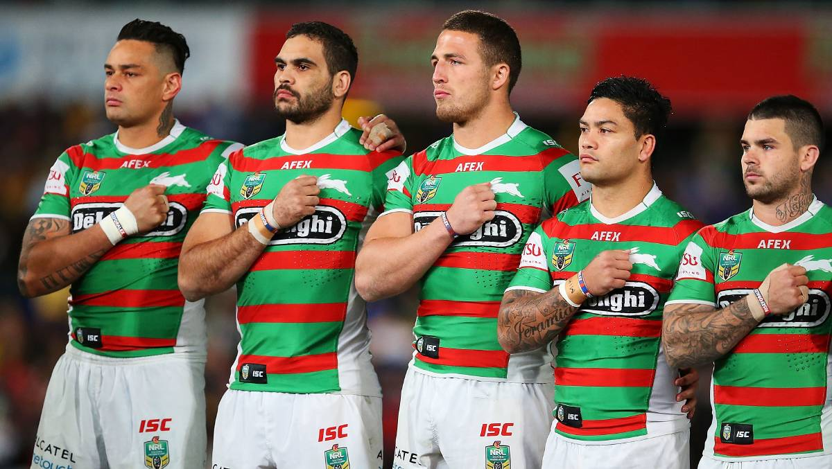 Joining South Sydney Rabbitohs on the Gold Coast